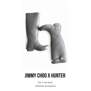 Jimmy Choo x Hunter